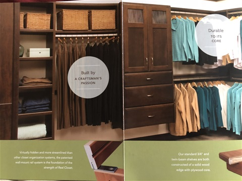 Real Closets/Real Simple