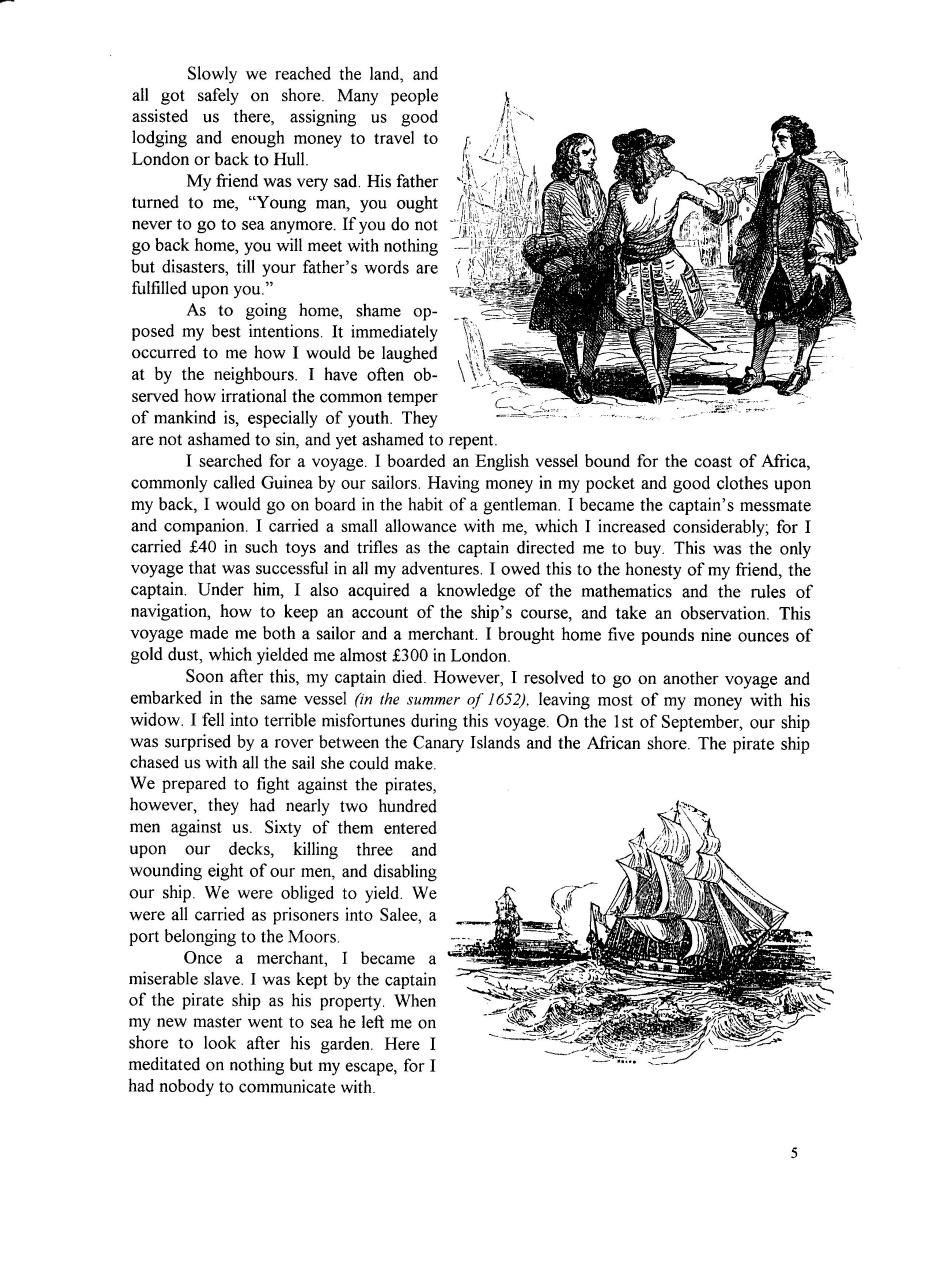 robinson crusoe slavery essay The topics were robinson's character changes and robinson's traits robinson crusoe changed quite a bit during over 30 years on the island and traveling at the beginning of the novel, robinson was a young, inexperienced, naive young adult.