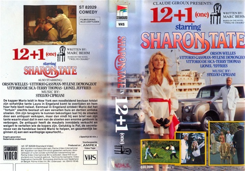 VHS Rarities The Thirteen Chairs aka 12+1 (1969) Sharon Tateu0027s Last Movie & Blog - www.femaletroubleproductions.nl