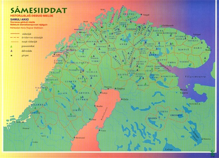Sapmi Map