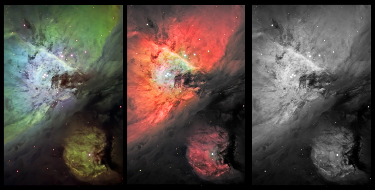 M42 center, a collage picture taken 28. Oct-12.
