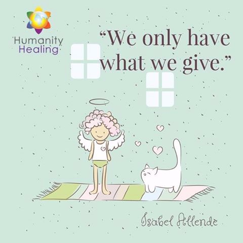 we only get what we give