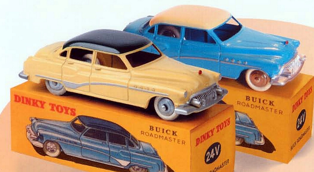 Classic Dinky Toys Collection Magazine Part # 33 BUICK ROADMASTER