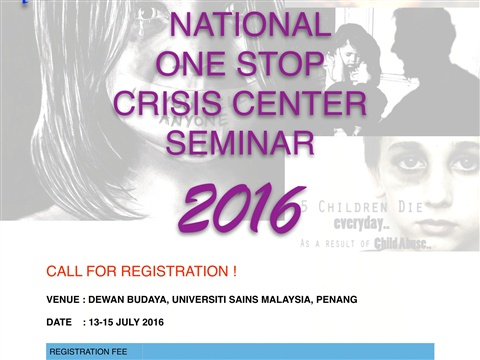 2016 National OSCC Seminar, Penang