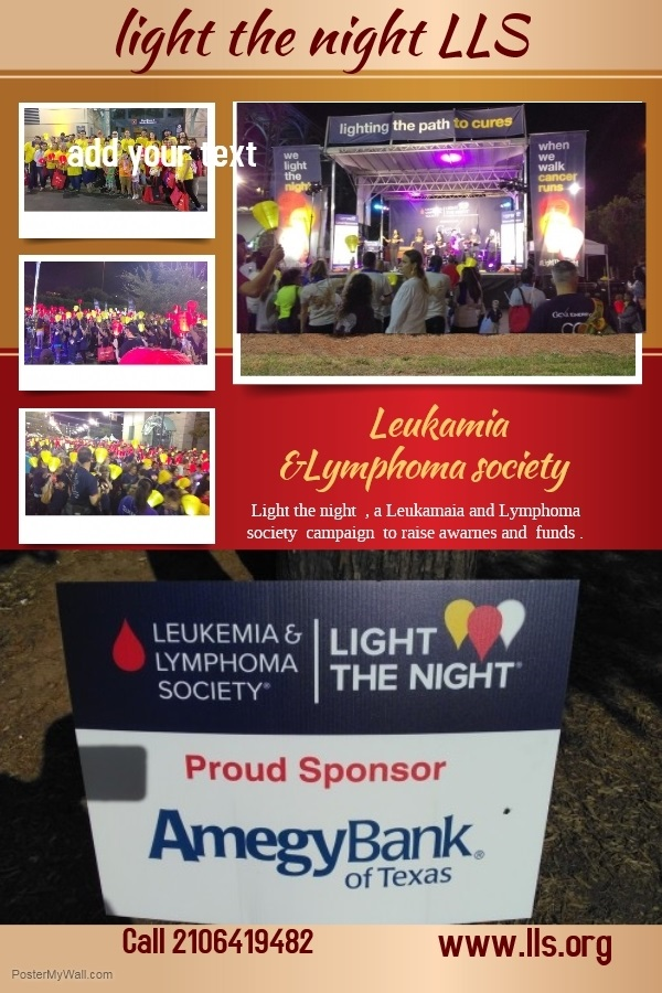 Leukemia And Lymphoma Society Lights The Night Nationally To Dispel The  Dearkness Of Blood Cancers