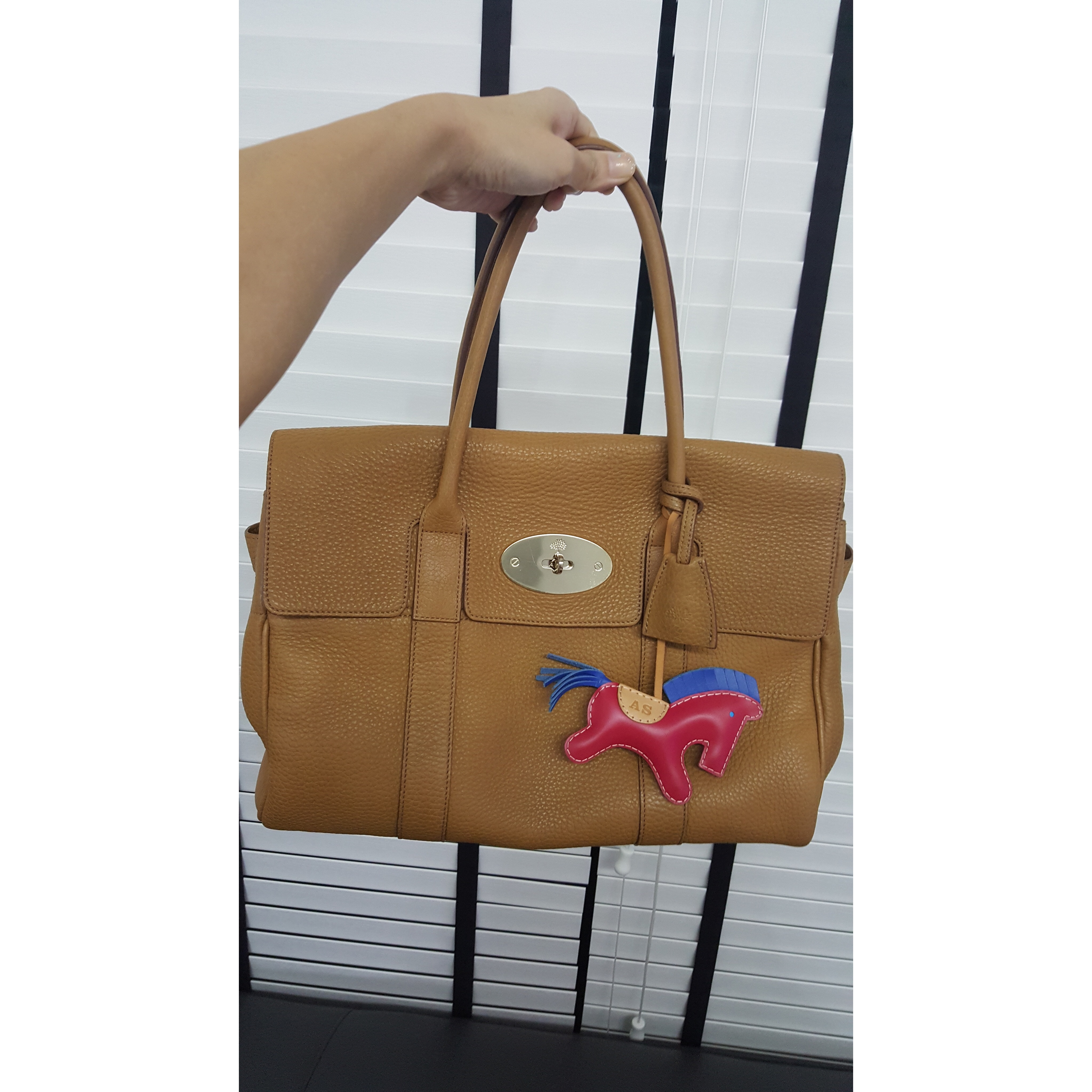 ... purchase mulbery bayswater bag size standard color camel brown in ghw  leather calfskin condition 9 10 d3f05a03cddfe