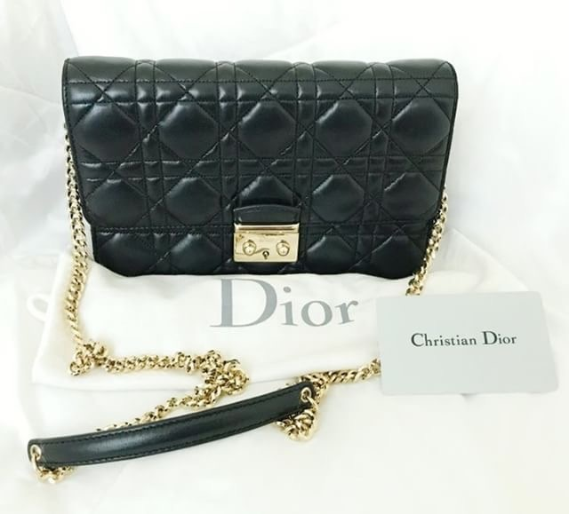 84d211900727 Christian Dior WOC in Black Condition : 9/10. Dust bag & card. Selling  Price : SGD1635 / RM4900 (nego,instalment) Contact via WhatsApp :  +60126781155