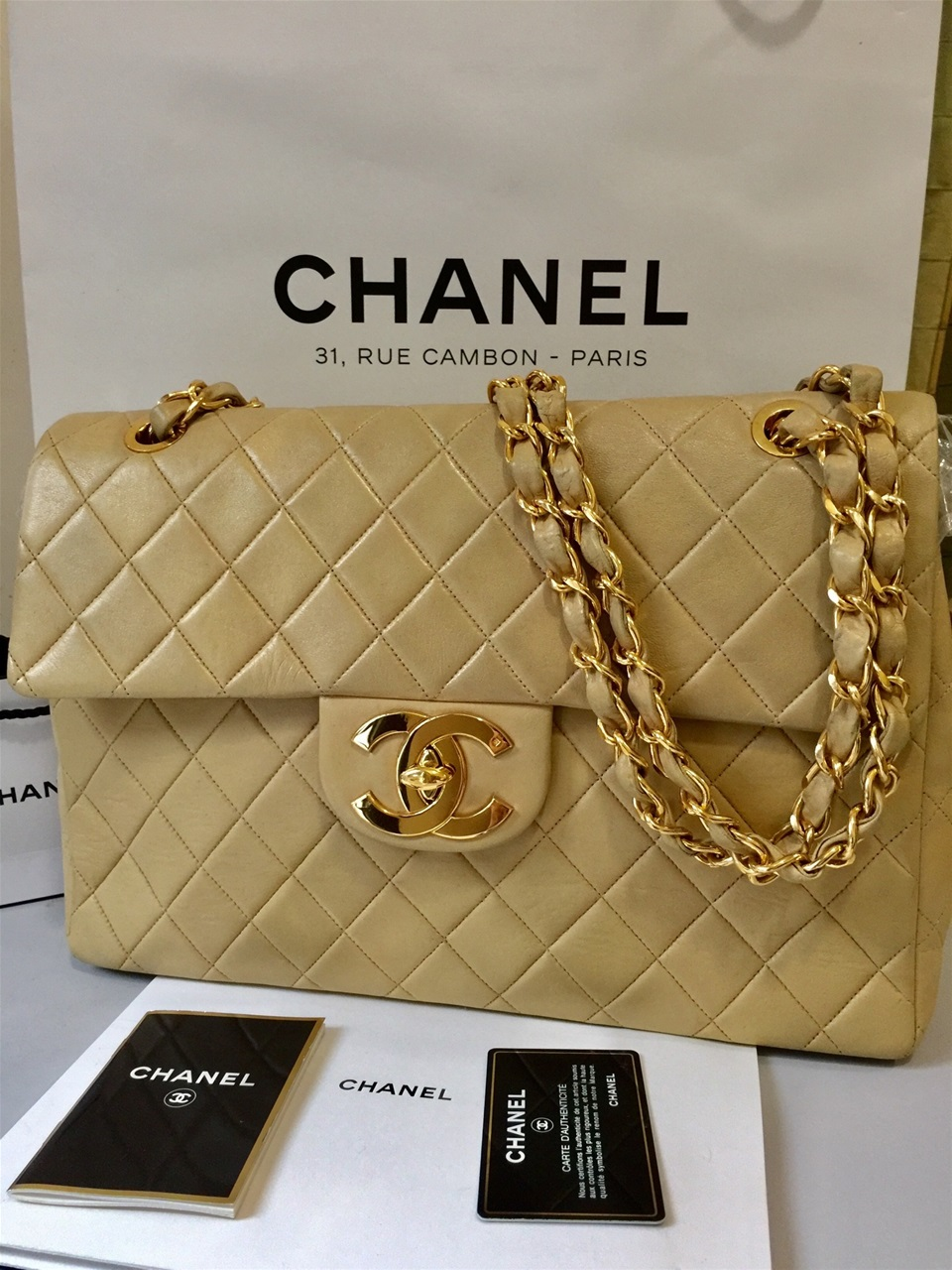 But Carte De Controle.Chanel 2 Www Shopmyluxurybag Com