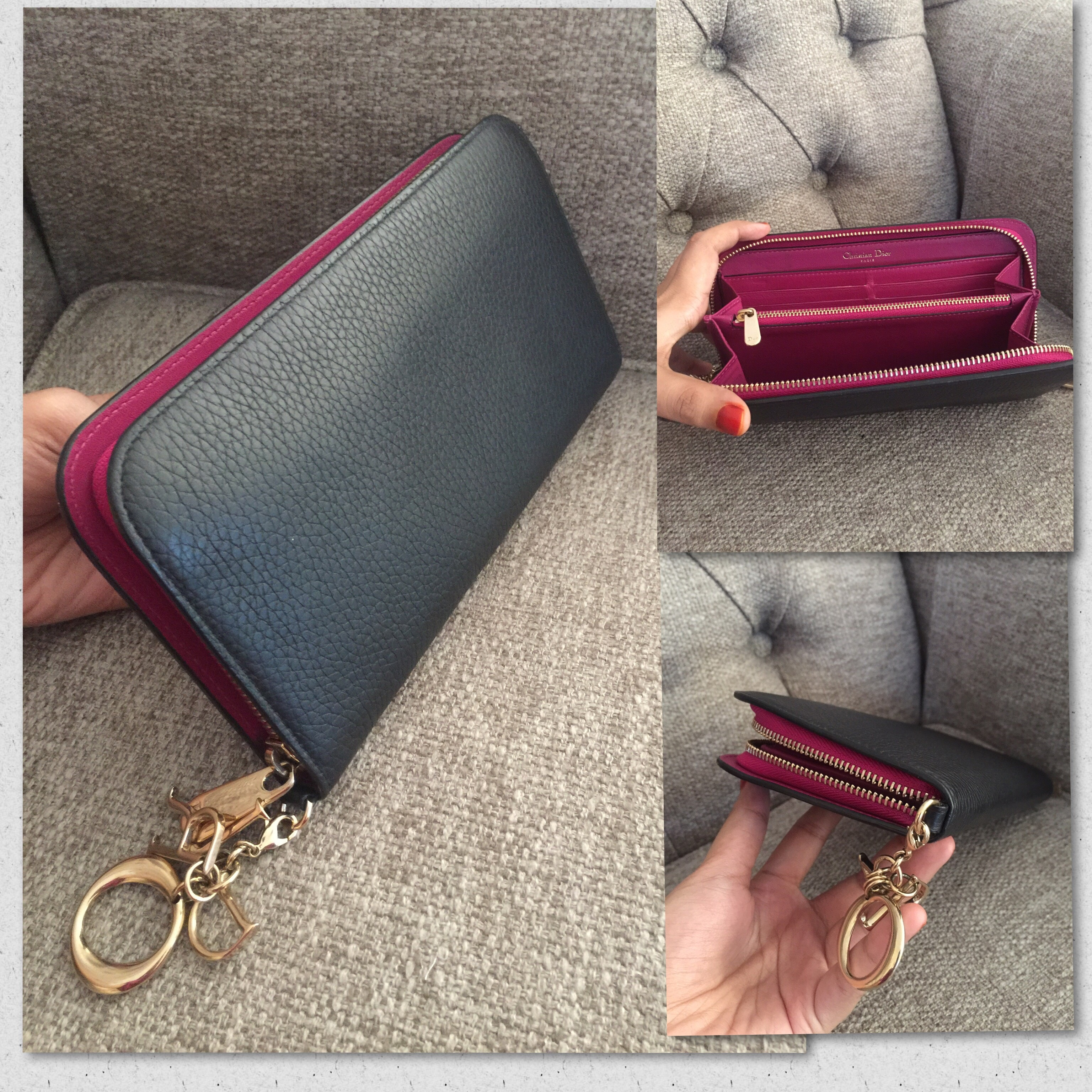 708b88da1d98 Dior diorissimo wallet Condition   9 10 Selling Price   SGD333   RM999  only! great deal! Contact via WhatsApp   +6011-19914112