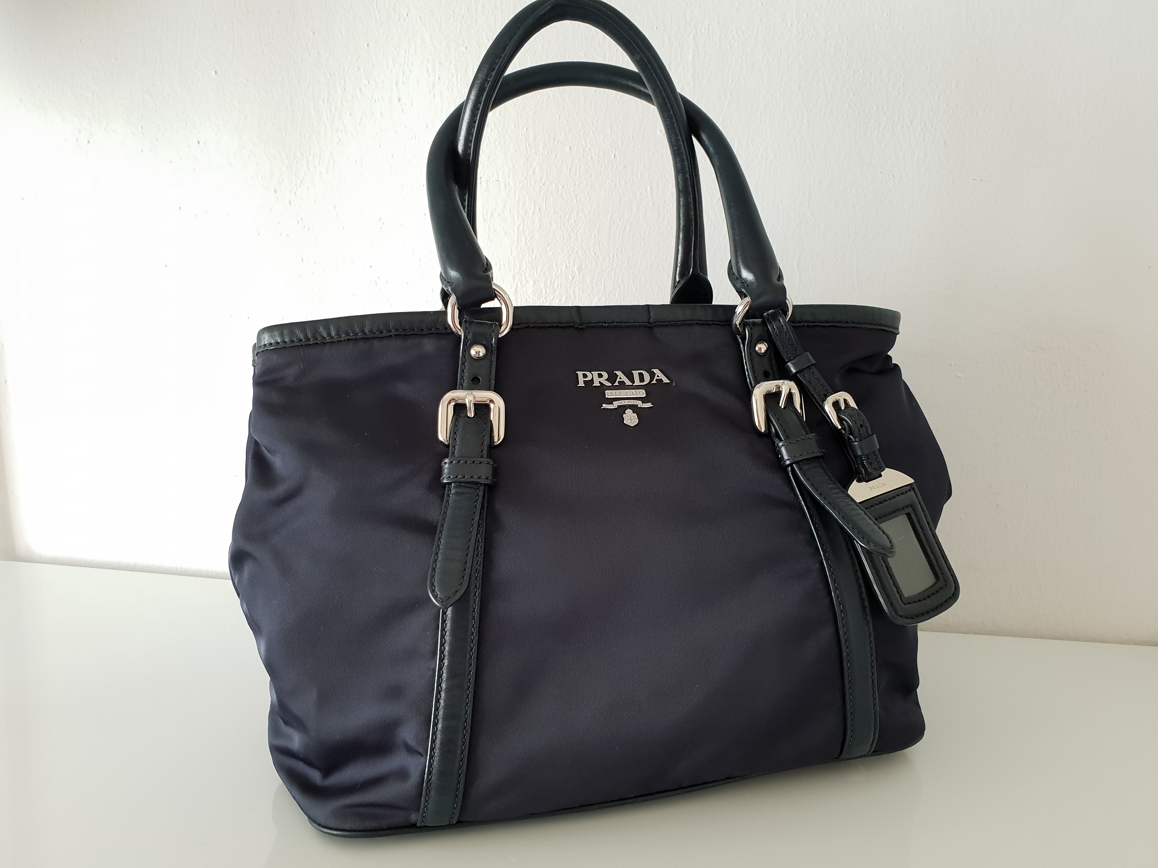 Prada BN 1841 in Silver Hardware Condition   8.5 10 Pre-Loved with good  condition! Come with Bag  b2c3bca748ca3