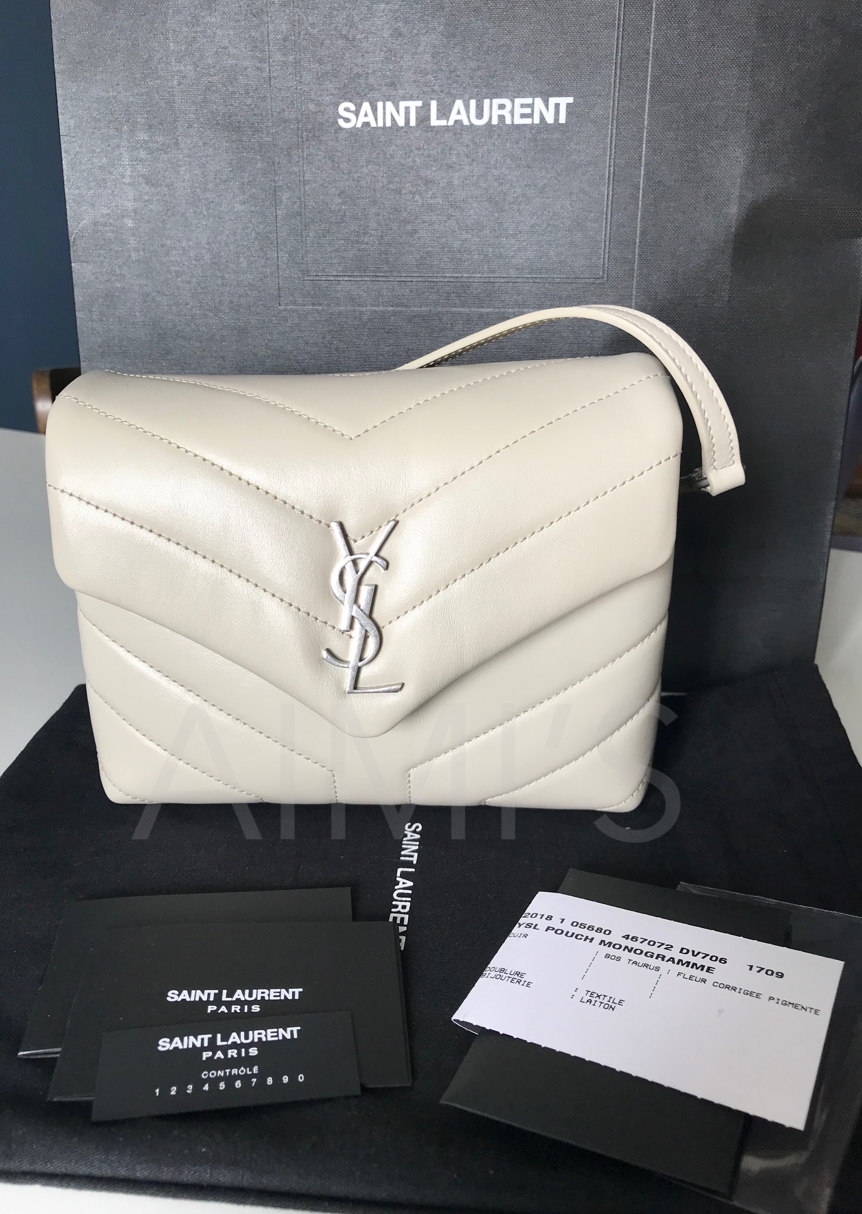59a482ade83 YSL Toy Loulou Calfskin Leather Bag Measurements   7 ½