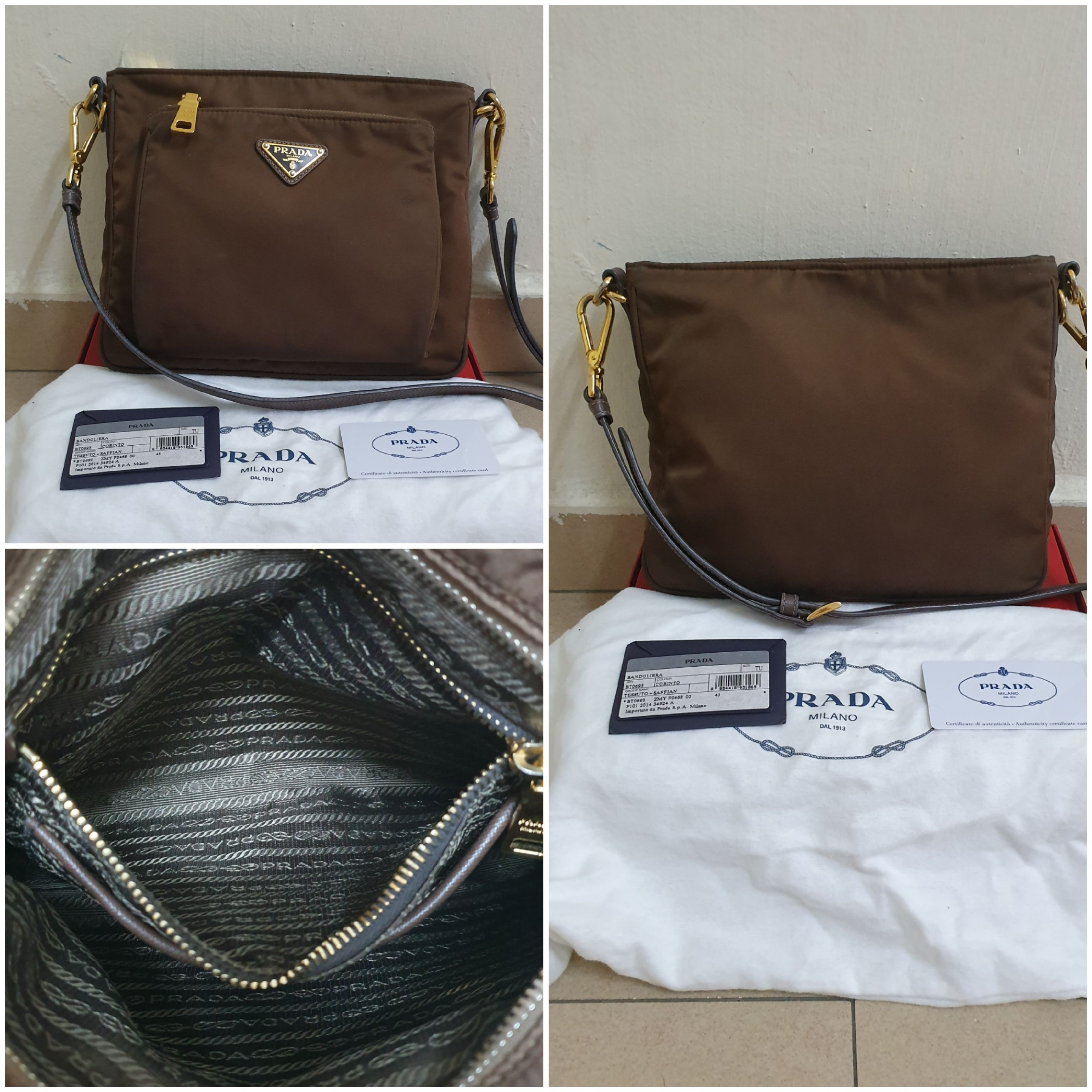 14bea330a45a Prada Bt0693 Condition : 8.5/10 Come with dustbag and care card Selling  Price : SGD485 / RM1450 2x installment Contact via WhatsApp : +60127927079