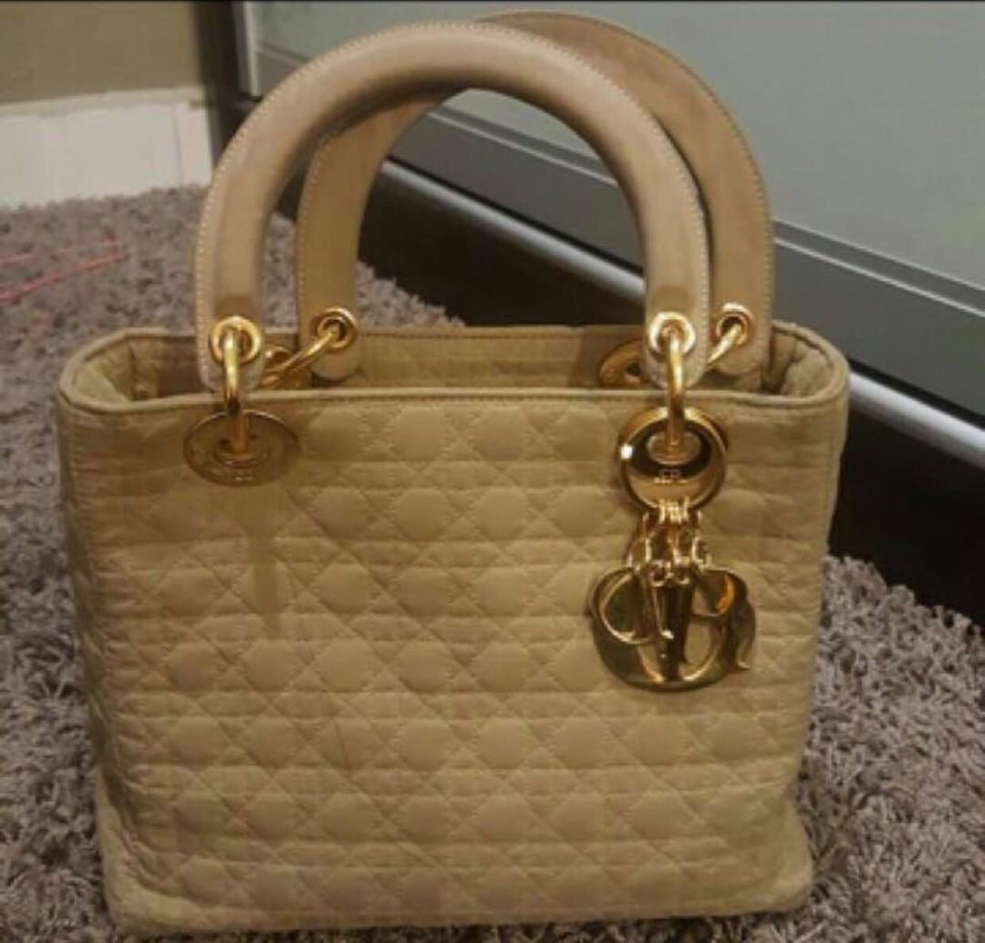 792a27120ea AUTHENTIC LADY DIOR VINTAGE NYLON CANNAGE BAG Condition : 7/10 Comes with  bag itself and good authentic card. Selling Price : SGD 300 / RM900 nego  for ...