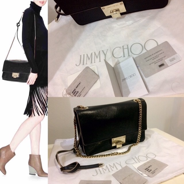 3a3e3b256b Jimmy Choo Rebel Soft S Washed Crinkled Leather Installment are available  upon request Condition : 9.9/10 in excellent condition (super rarely used).