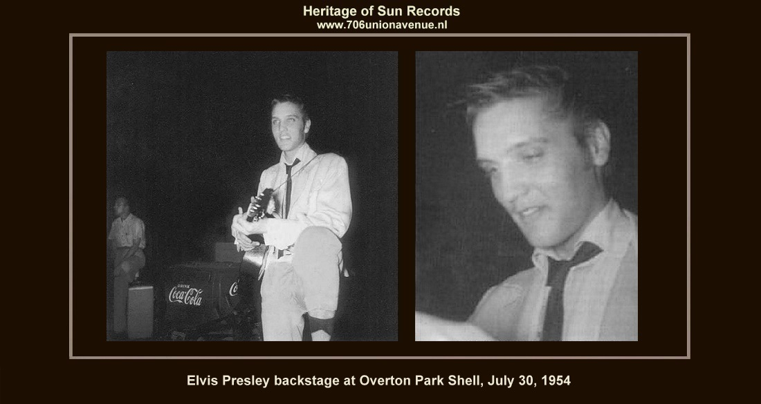 f8eeb3637d74 By the time the two o'clock show approached on the afternoon of July 30,  1954, Elvis Presley had become even more nervous than usual. Ready to go on  stage, ...