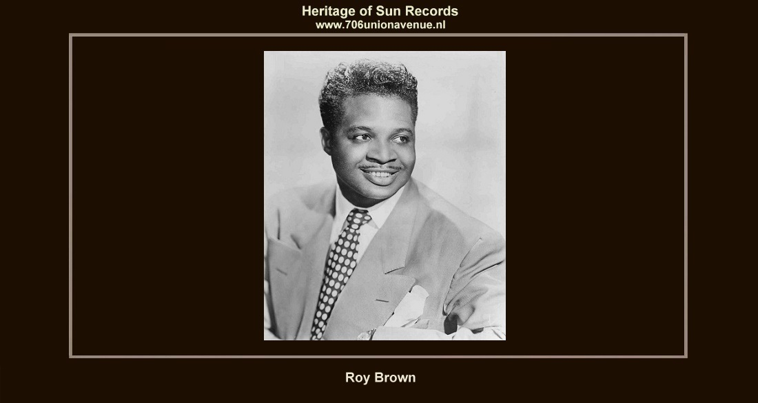 e8bc89c6 ***ROY JAMES BROWN - Also known as
