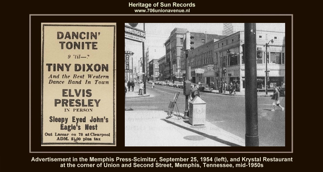 Elvis Sun 1954-2 - www 706unionavenue nl