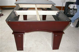 POOL TABLE DISMANTLE Wwwcenturybilliardsnet - How to disassemble a pool table