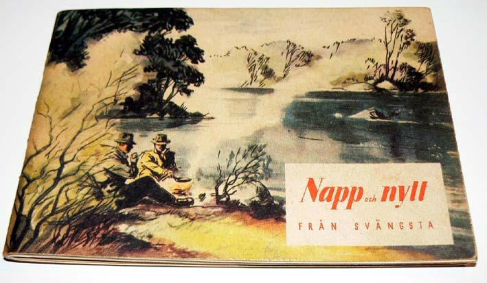 1952fa92d Watch Out for fake copies !! This is the very first edition Of Abu's Napp  och Nytt from 1948. This one sold for $325