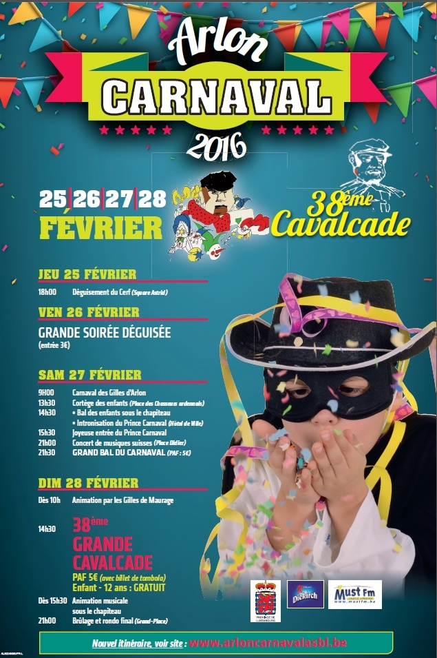 Carnavals Arlon 2016