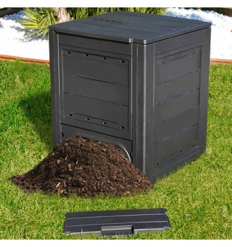 Image result for 3 bin vertical composter""