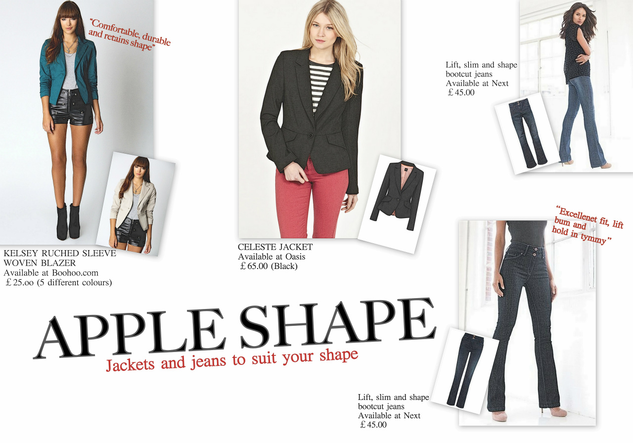 Apple body shape - The Chic Fashionista 15