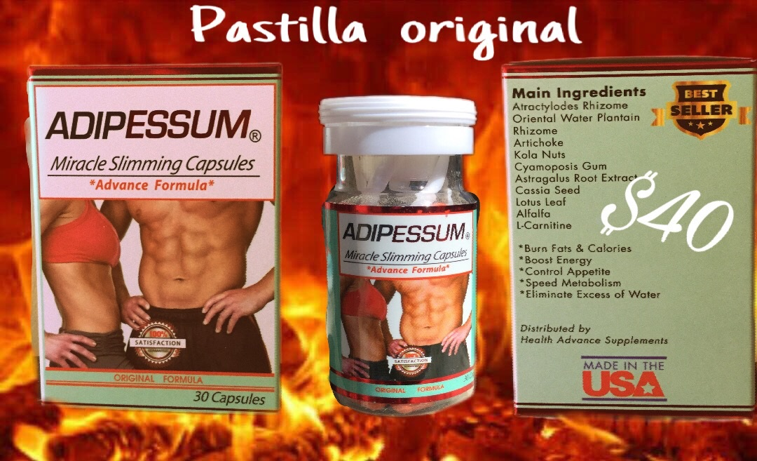 Pastillas para adelgazar adipotrim ingredients