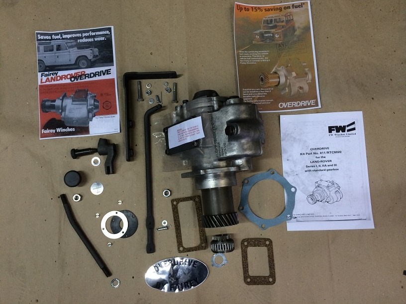 land rover overdrive fitting instructions