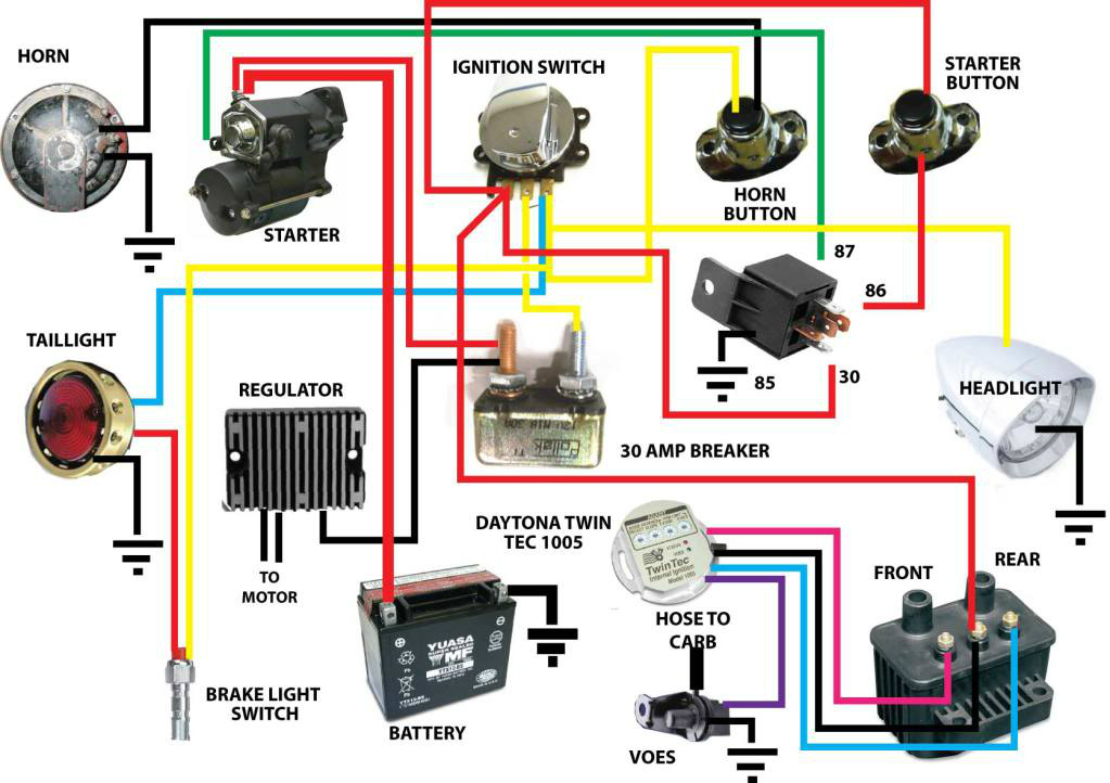 I Szw H on Basic Tail Light Wiring Diagram
